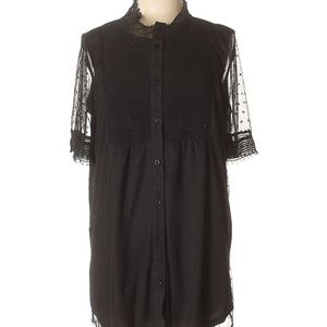 Suzanne Betro Black Day to evening tunic 2X